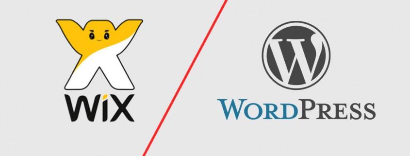 Comparaison entre Wordpress et Wix