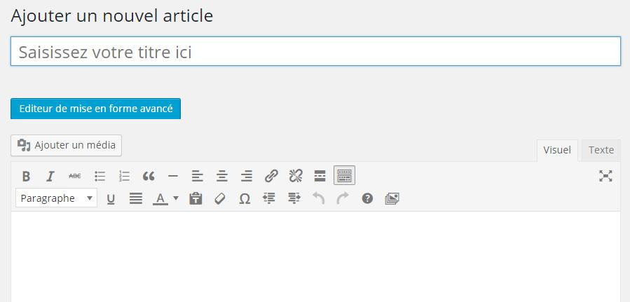 editeur-Wordpress