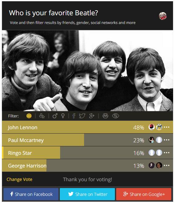 Plugins de sondages
