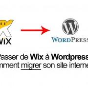 Migrer de Wix à Wordpress