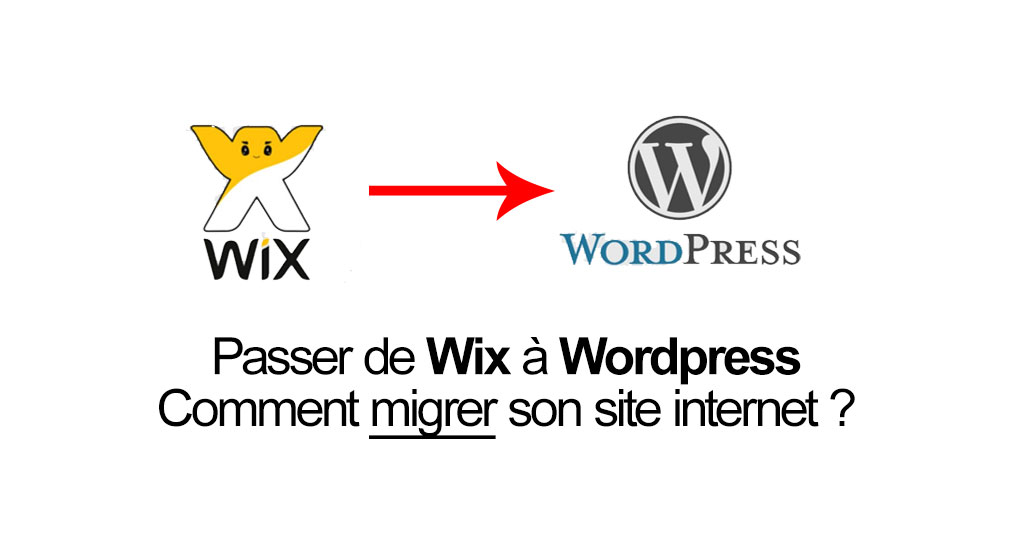 Migrer de Wix à WordPress