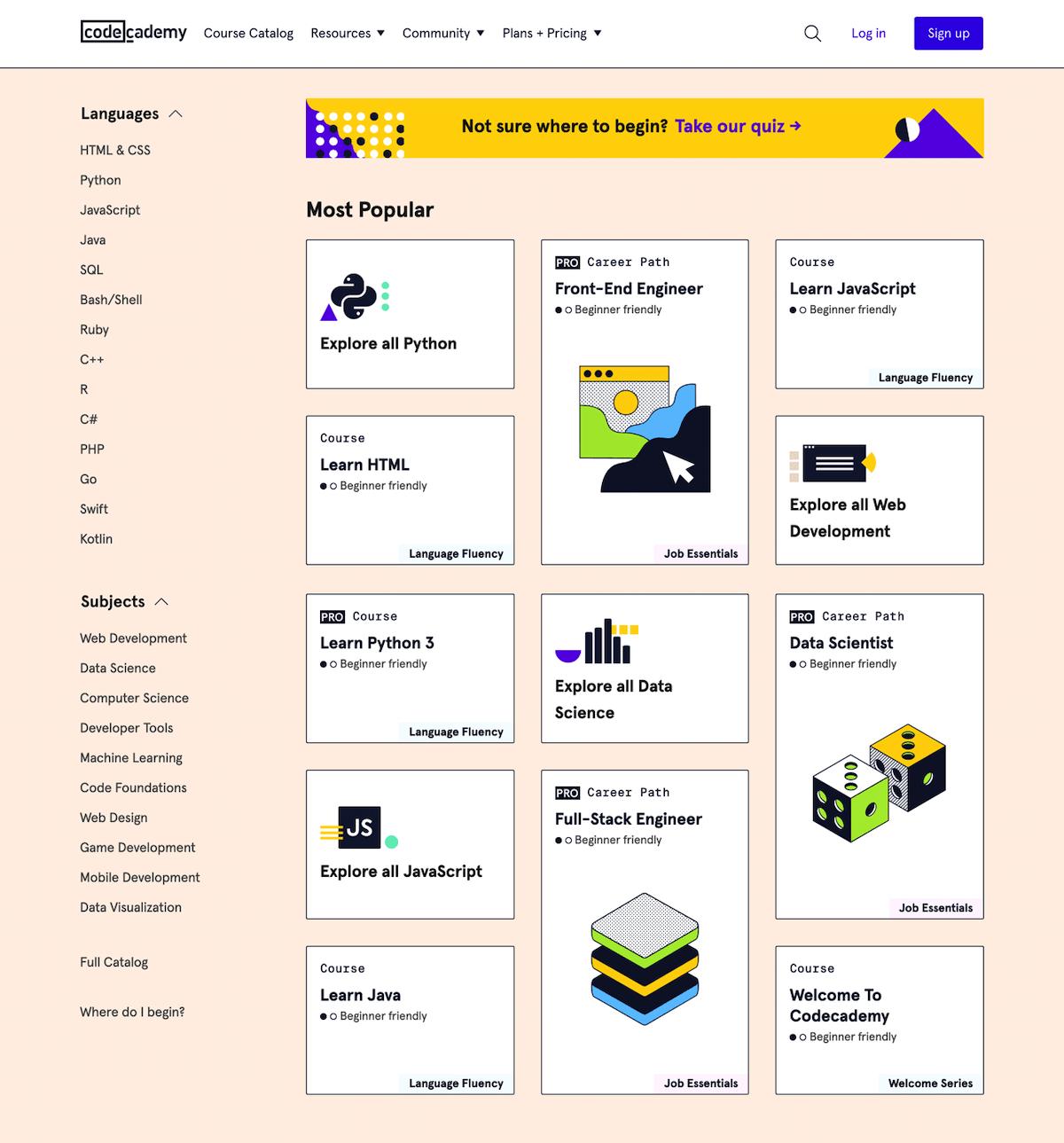 cours en ligne gratuit pour apprendre à coder et développer en HTML, CSS, javascript